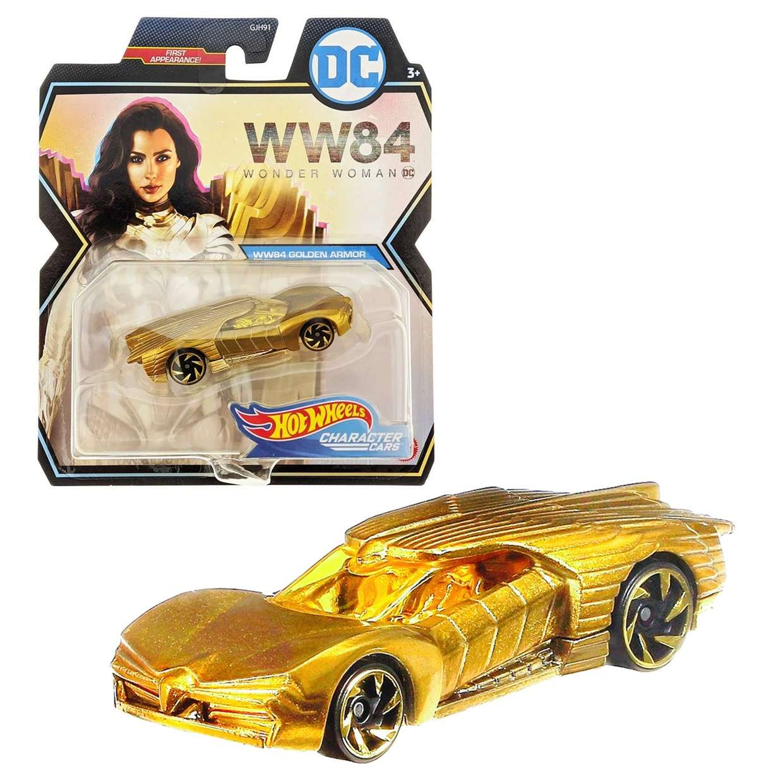 Wonder Woman Gold Armor ( Ww84 ) Hot Wheels First Appearance