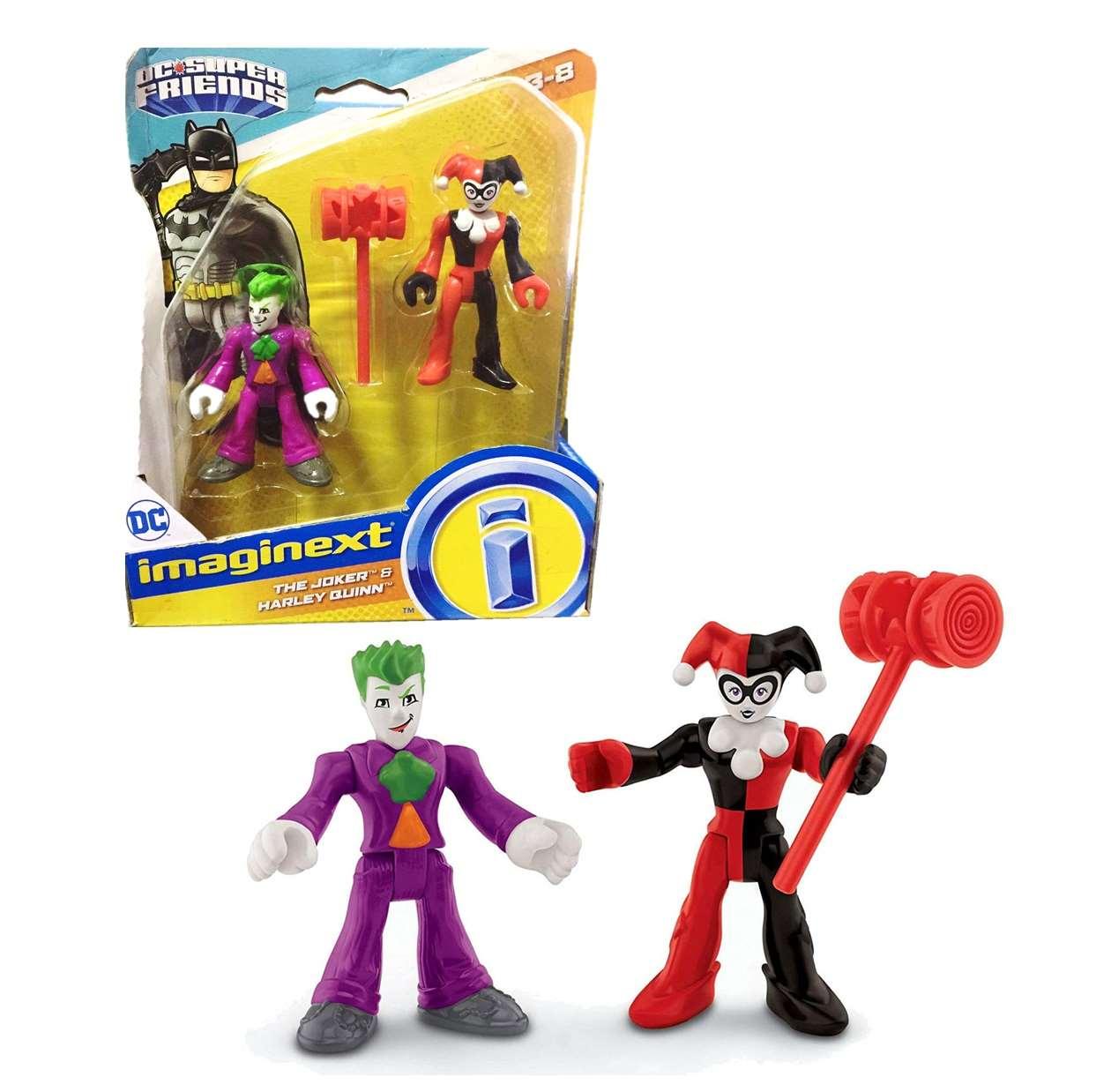 The Joker And Harley Quinn DC Super Friends Imaginext