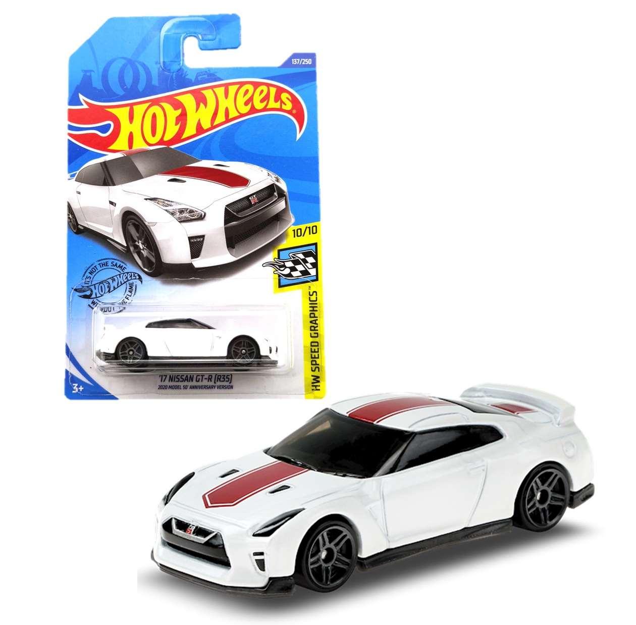 17 Nissan Gt R ( R35 ) 137/250 Hot Wheels Hw Speed Graphics