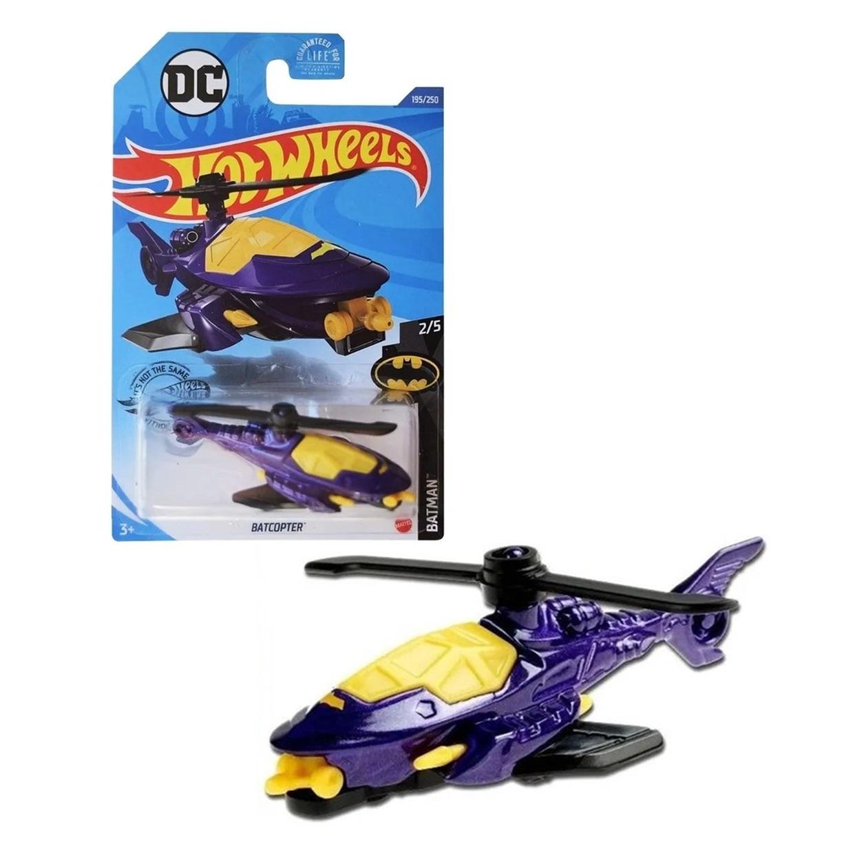 Batcopter Fkvsy 2/5 Hot Wheels Batman Dc Comics 195/250