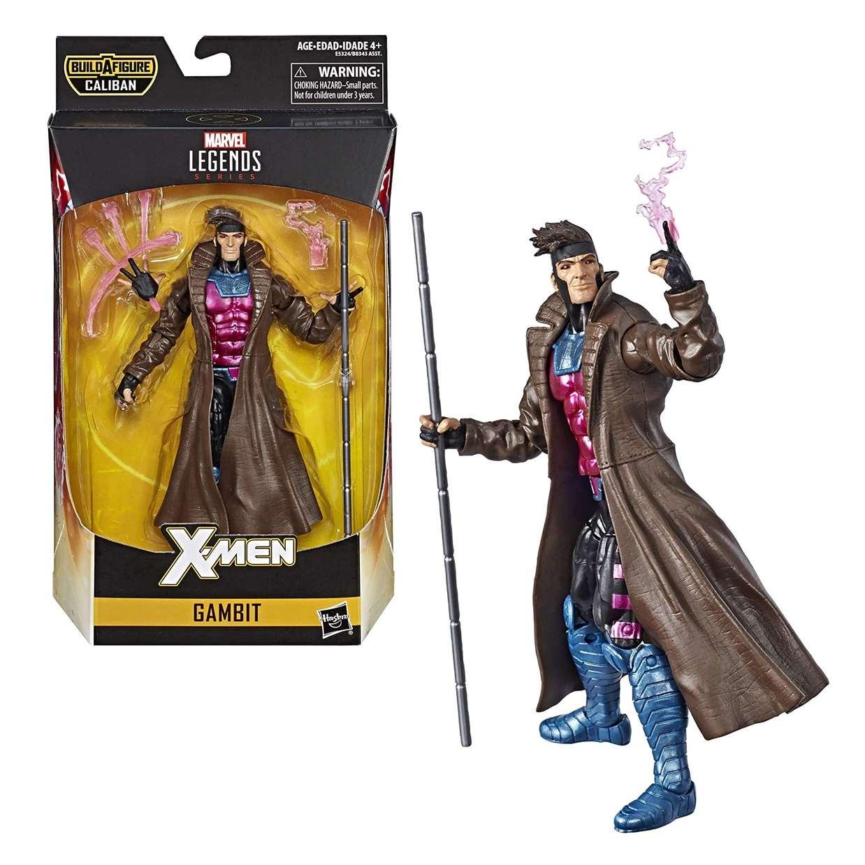 Gambit Figura Marvel B A F Caliban X Men Legends 6 Pulg