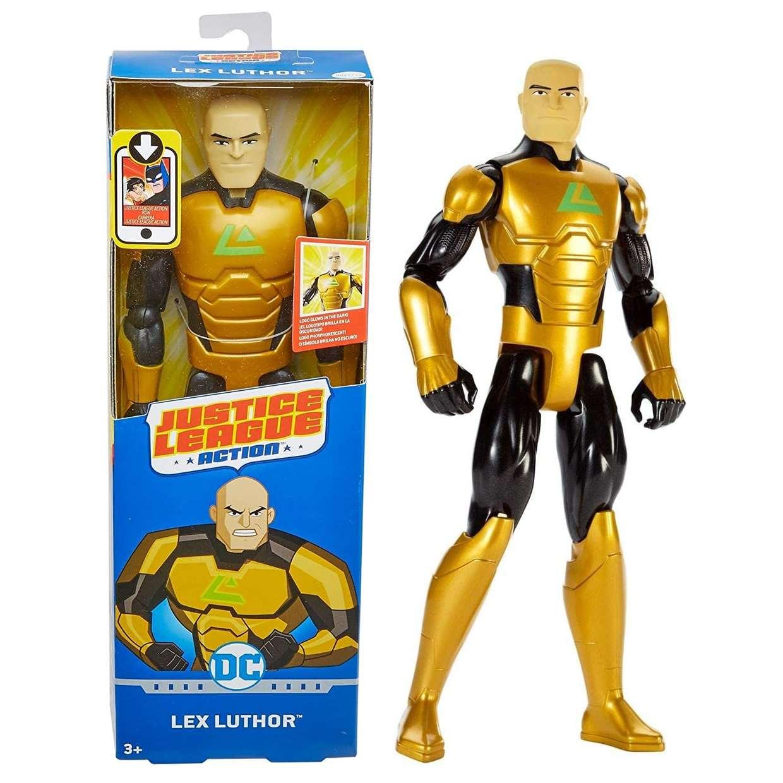 Lex Luthor Figura Dc Justice League Action Mattel 12 PuLG