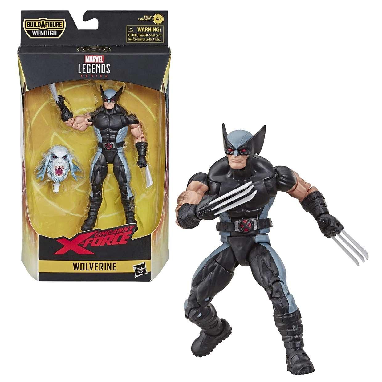 Wolverine Figura Uncanny X Force B A F Wendigo Legend Series