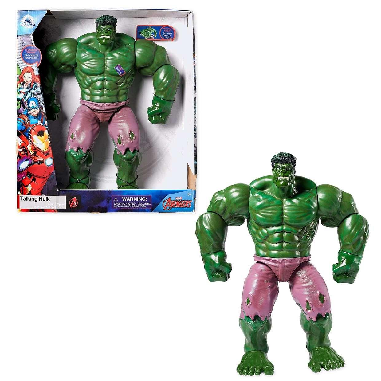 Talking Hulk Figura De Acción Disney Marvel Avengers