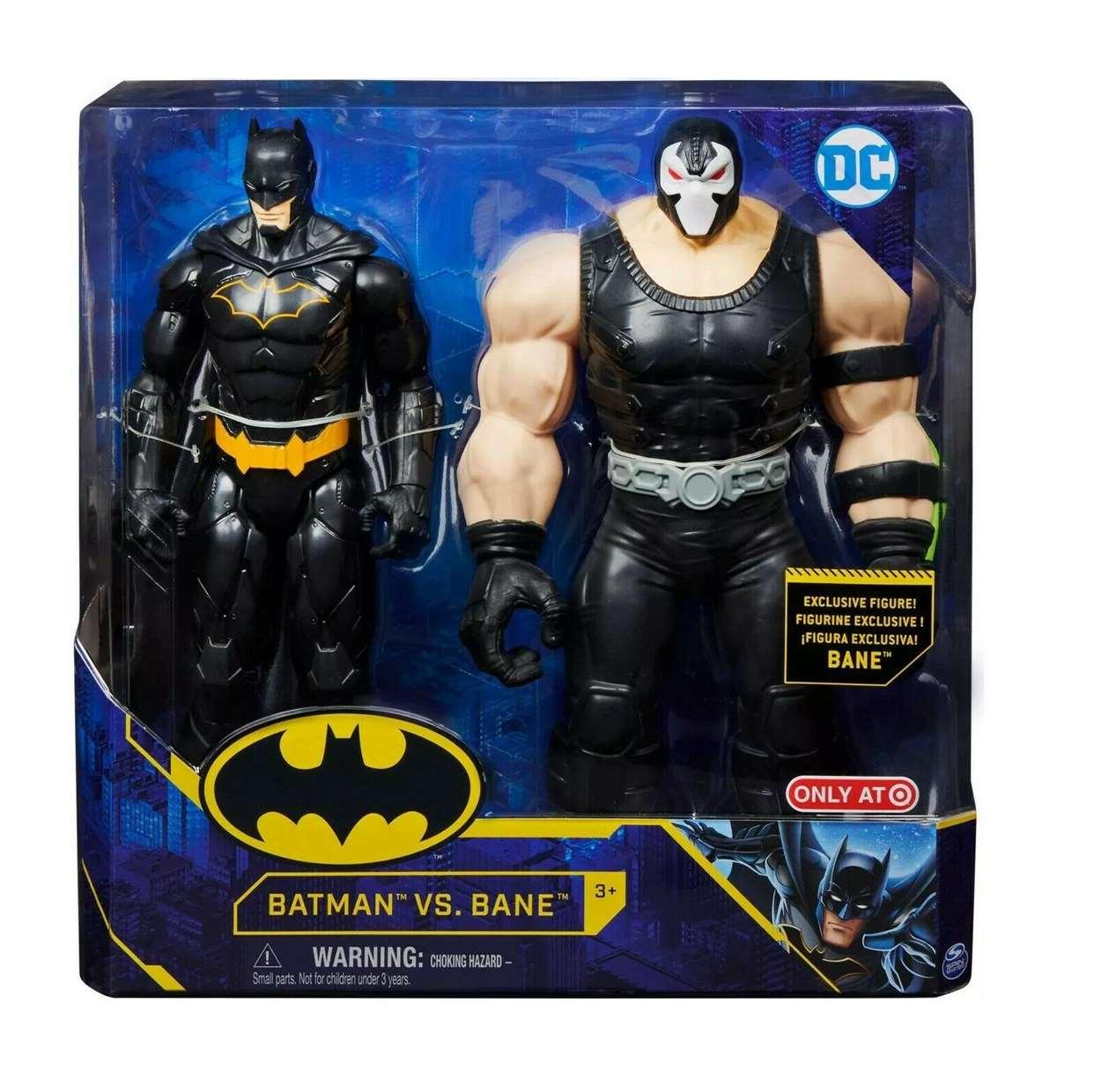 Batman Vs Bane Figura Dc Exclusivo Only T A Spin Master