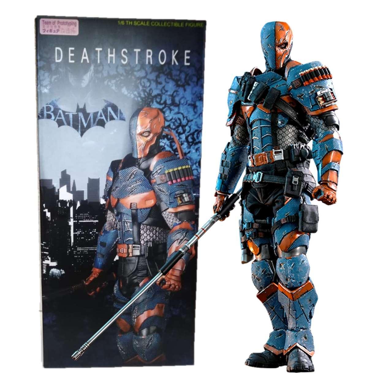 Deathstroke Figura De Acción Batman Team Of Prototyping