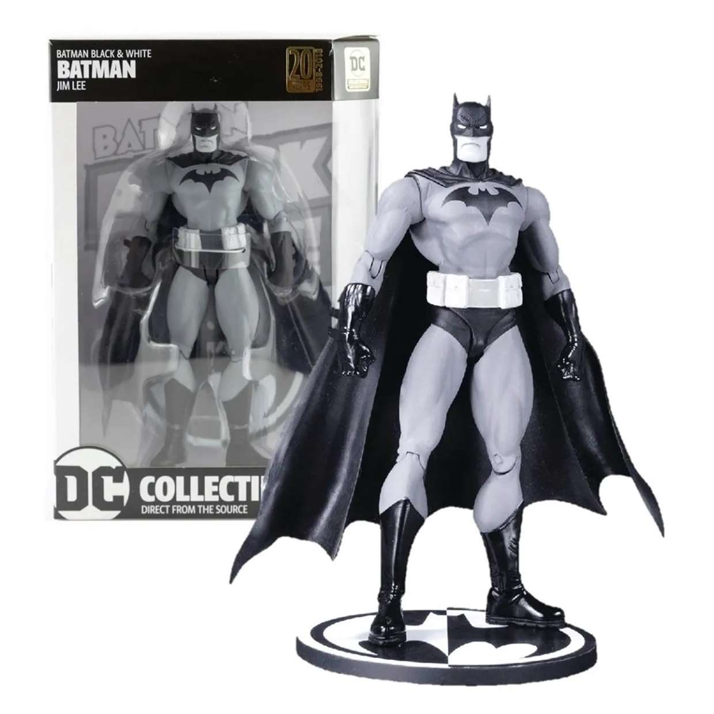 Batman Black & White Jim Lee Figura Dc Comics Collectibles