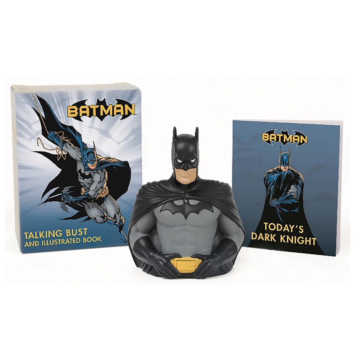 Talking Bust And Illustrated Book Dc Batman Deluxe Mega Kit