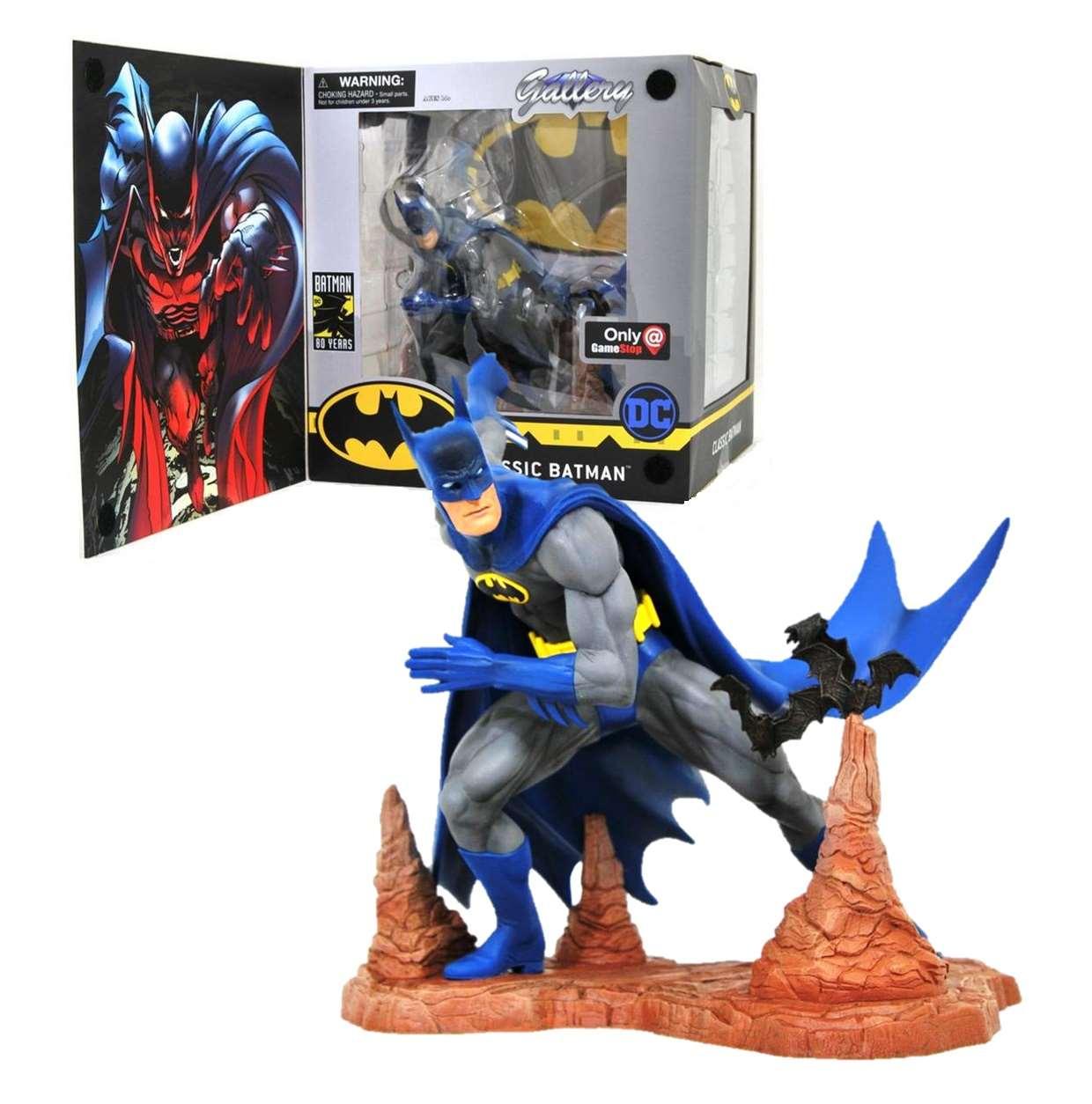 Batman Classic Figura Dc Comics Gallery Exclusivo Game Stop