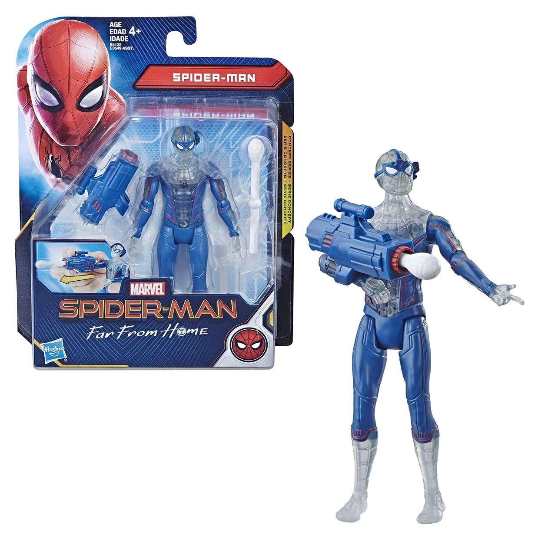 Spider Man Figura Serie Concepto Far From Home Marvel Hasbro