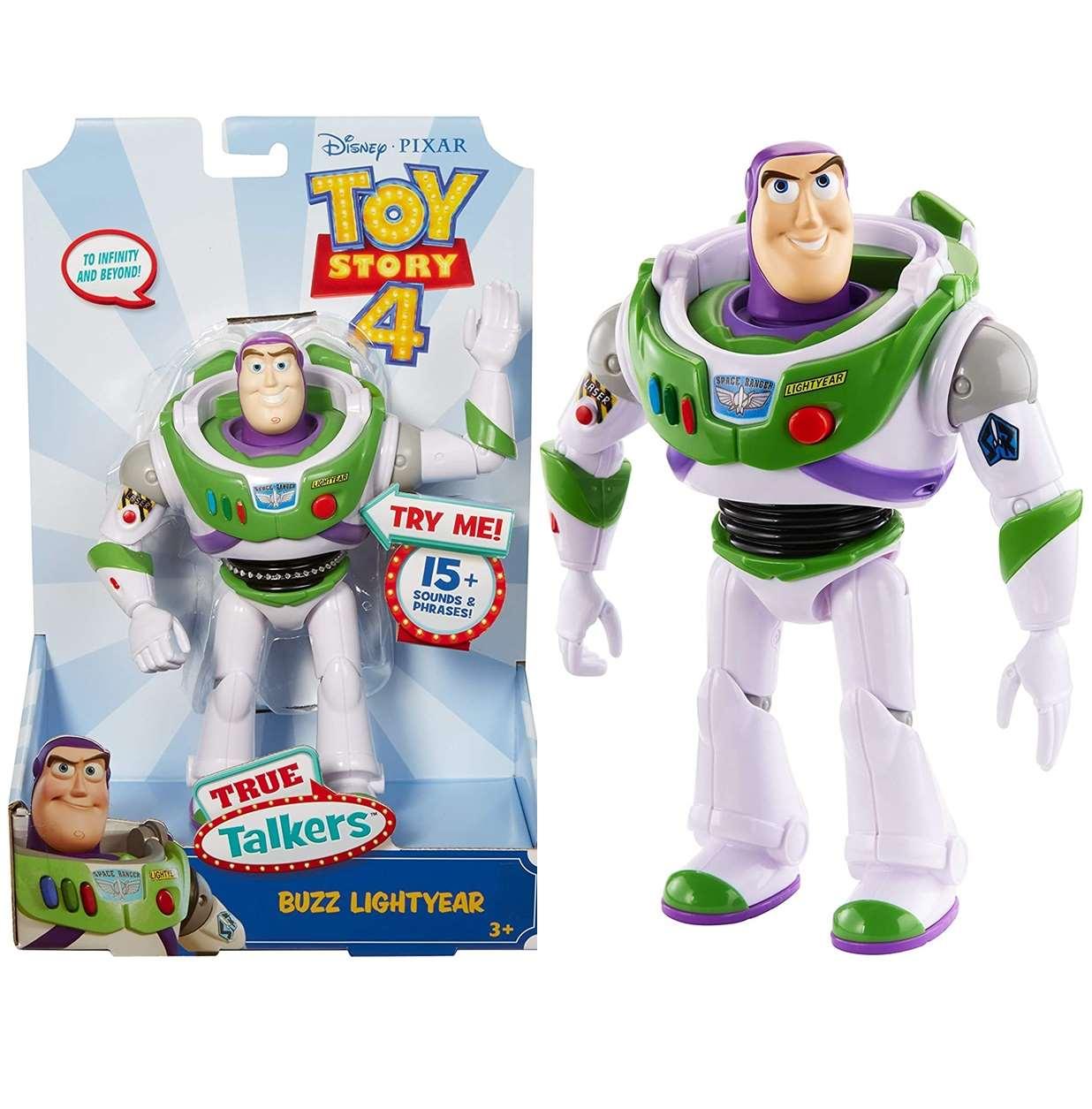 Buzz Lightyear True Talkers Figura Electrónica Toy Story