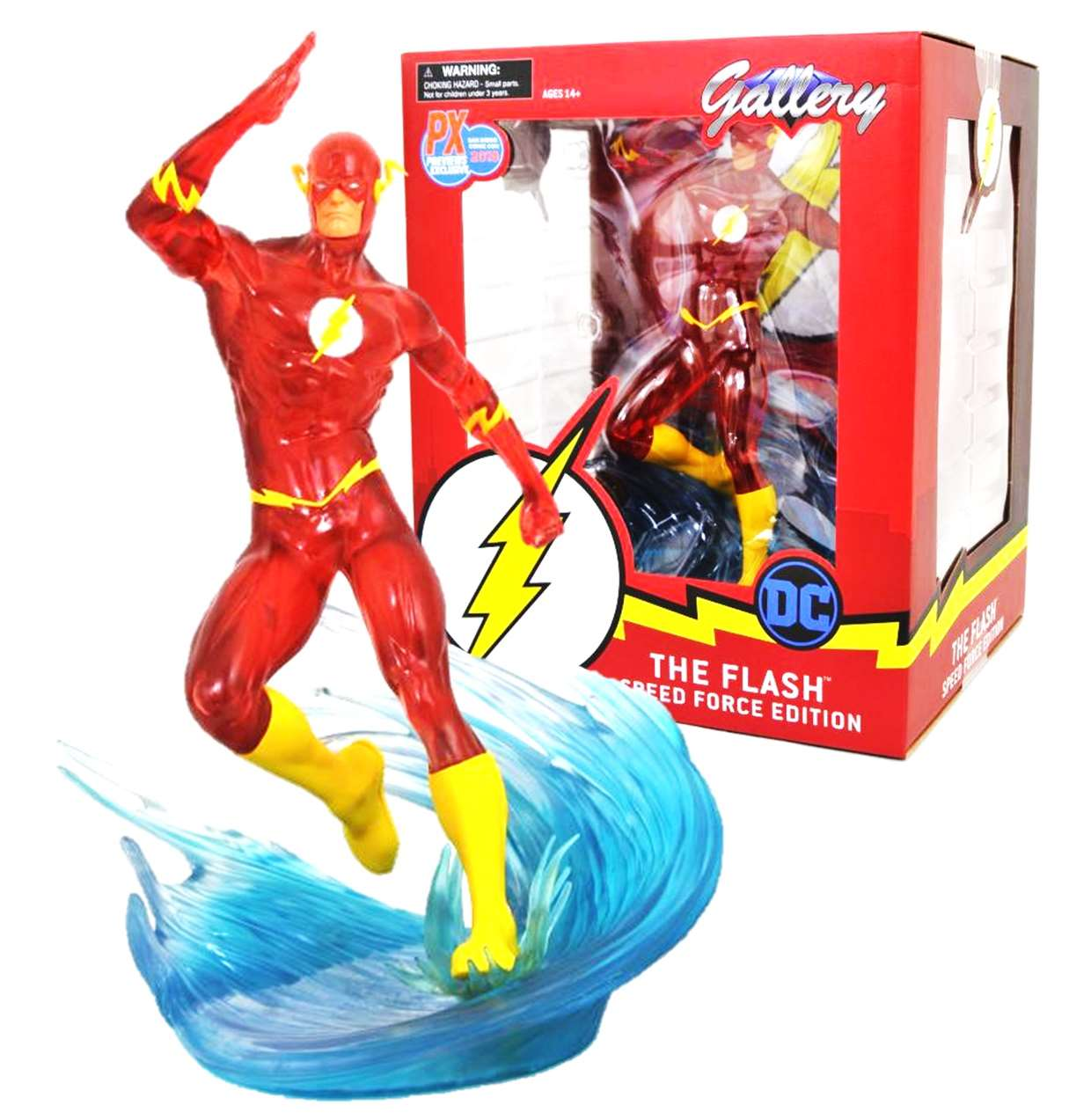 The Flash Diorama Speed Force Edition Gallery Exclusive P X