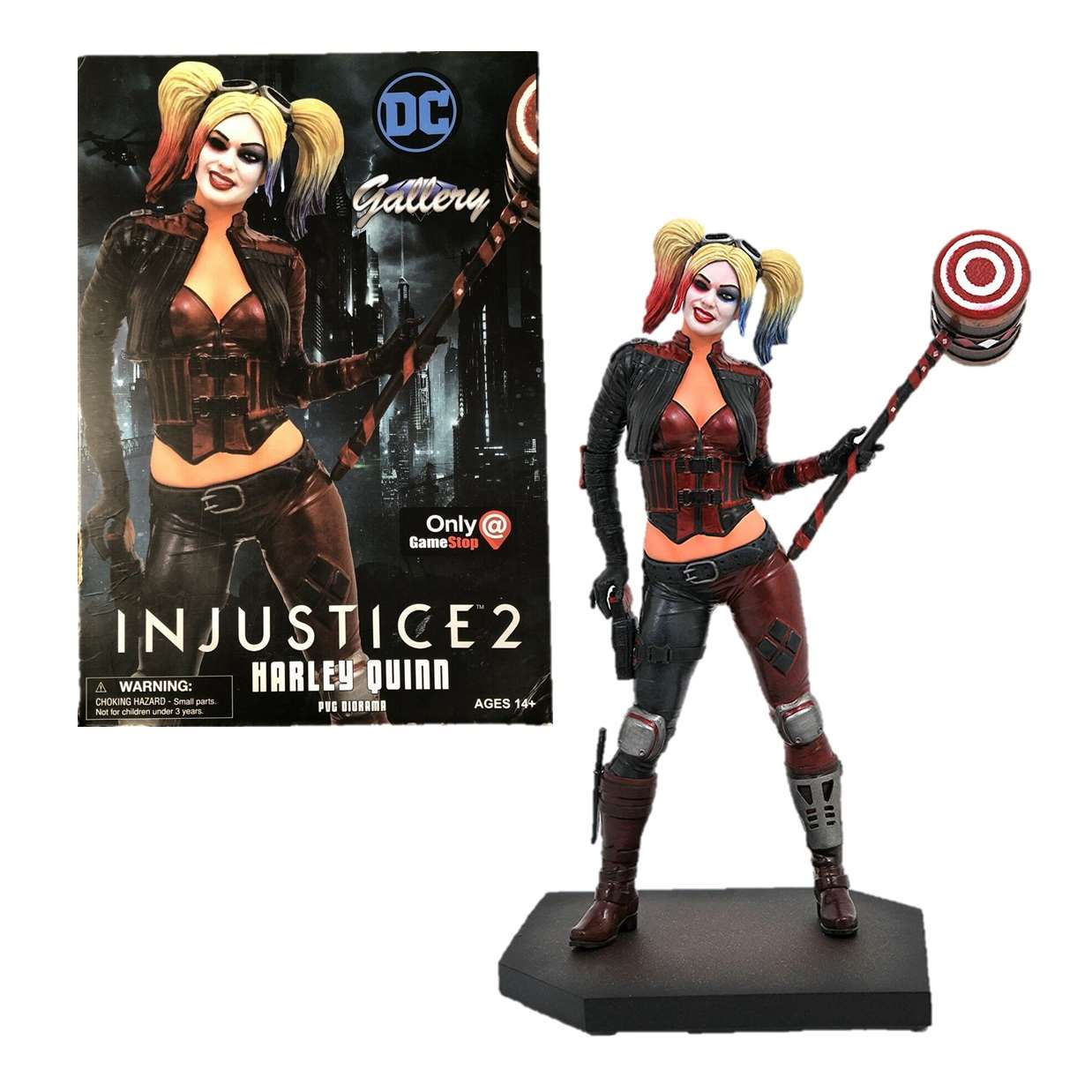 Diorama Harley Quinn Figura Injustice 2 Gallery Gamestop