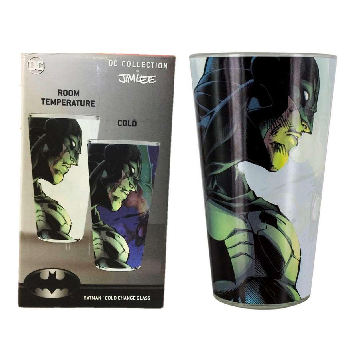 Batman Cold Change Glass Dc Collection Jim Lee Paladone