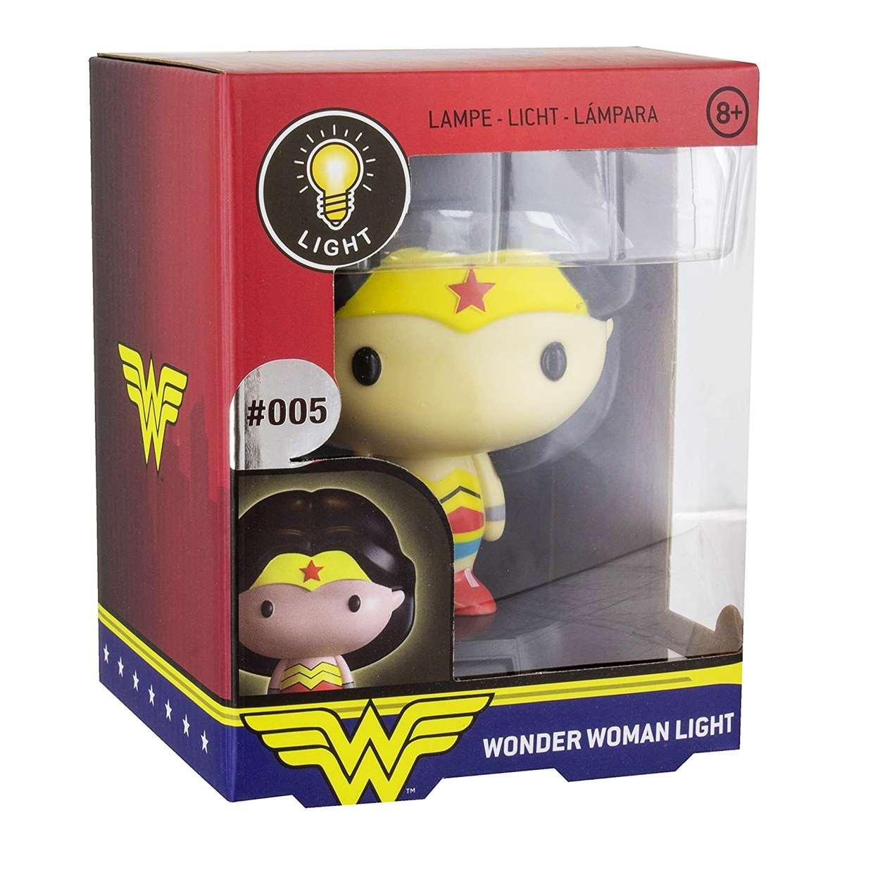 Lámpara Wonder Woman #005 Paladone Collect Them All Series