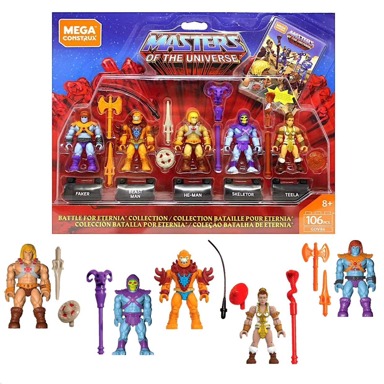 He Man Masters Of The Universe Battle For Eternia Collection