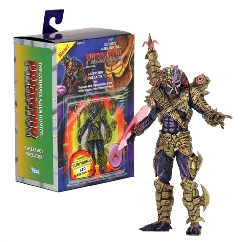 The Ultimate Alien Hunter Predator Figura De Acción Neca