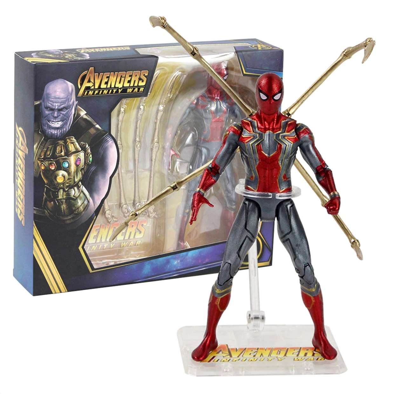 Iron Spider Figura De Acción Avengers Infinity War