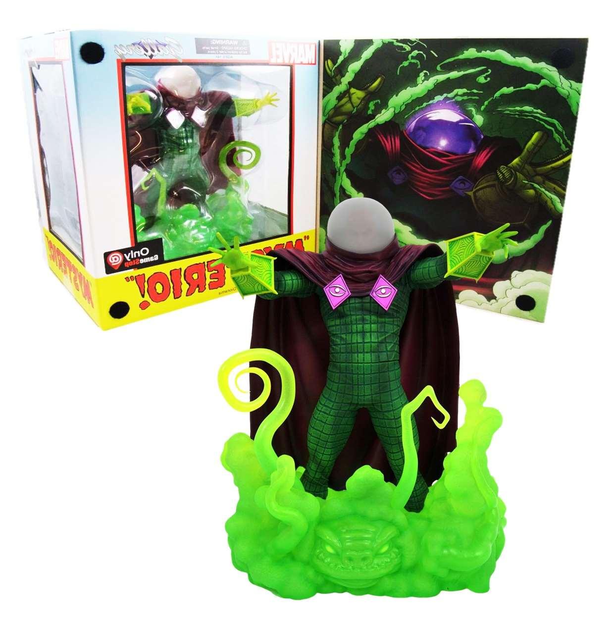 Mysterio Diorama Figura Marvel Gallery Exclusivo Game Stop