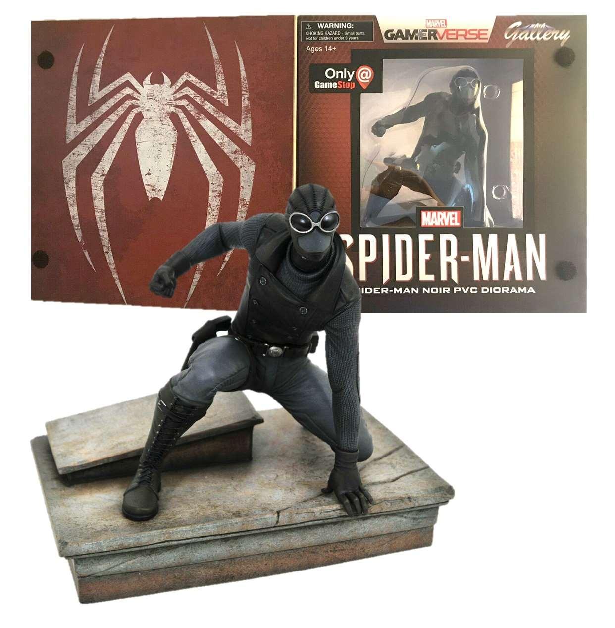 Diorama Spider Man Noir Marvel Gamerverse Only Game Stop