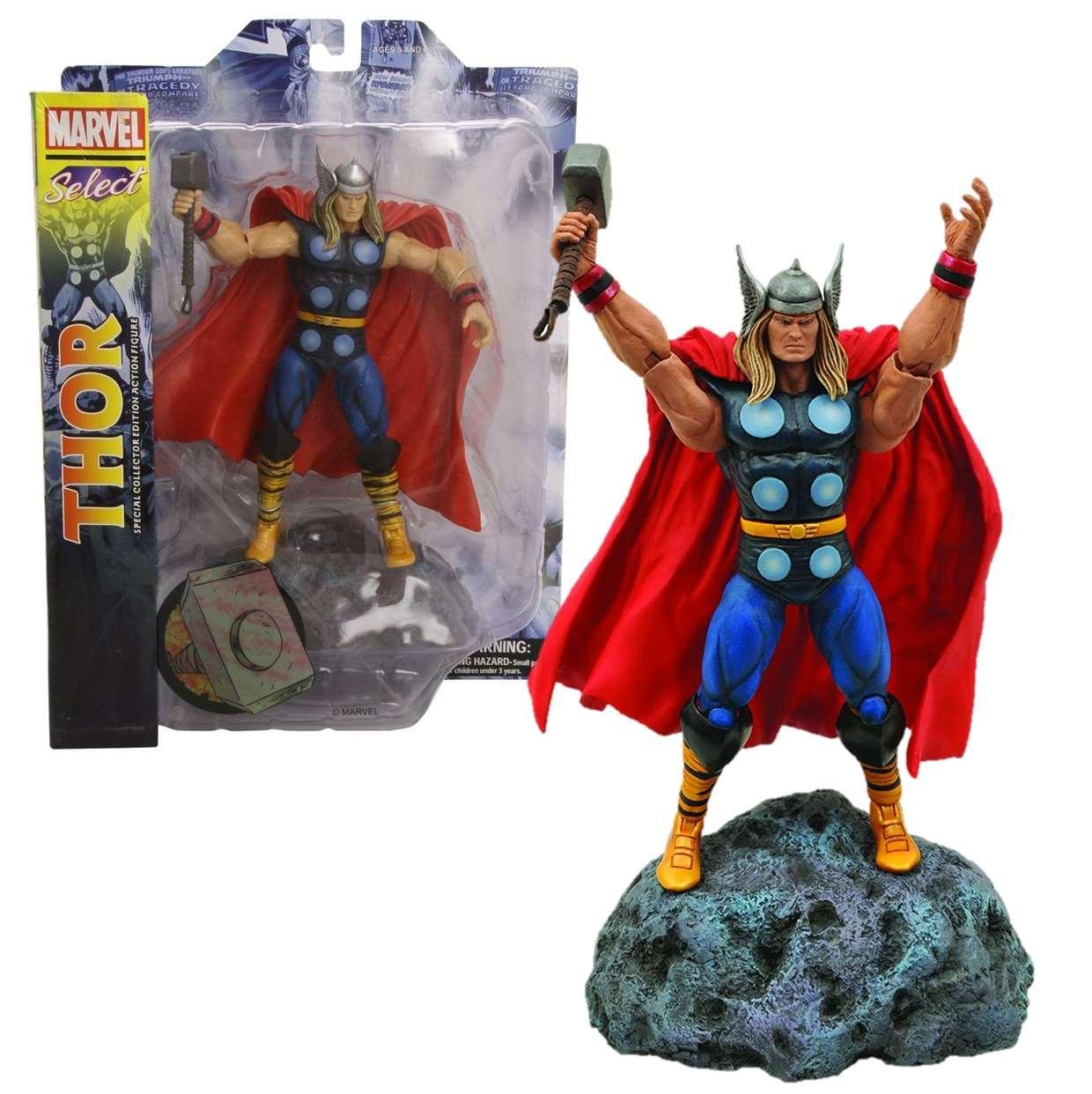 Thor Classic Action Figura Marvel Diamond Select Toys
