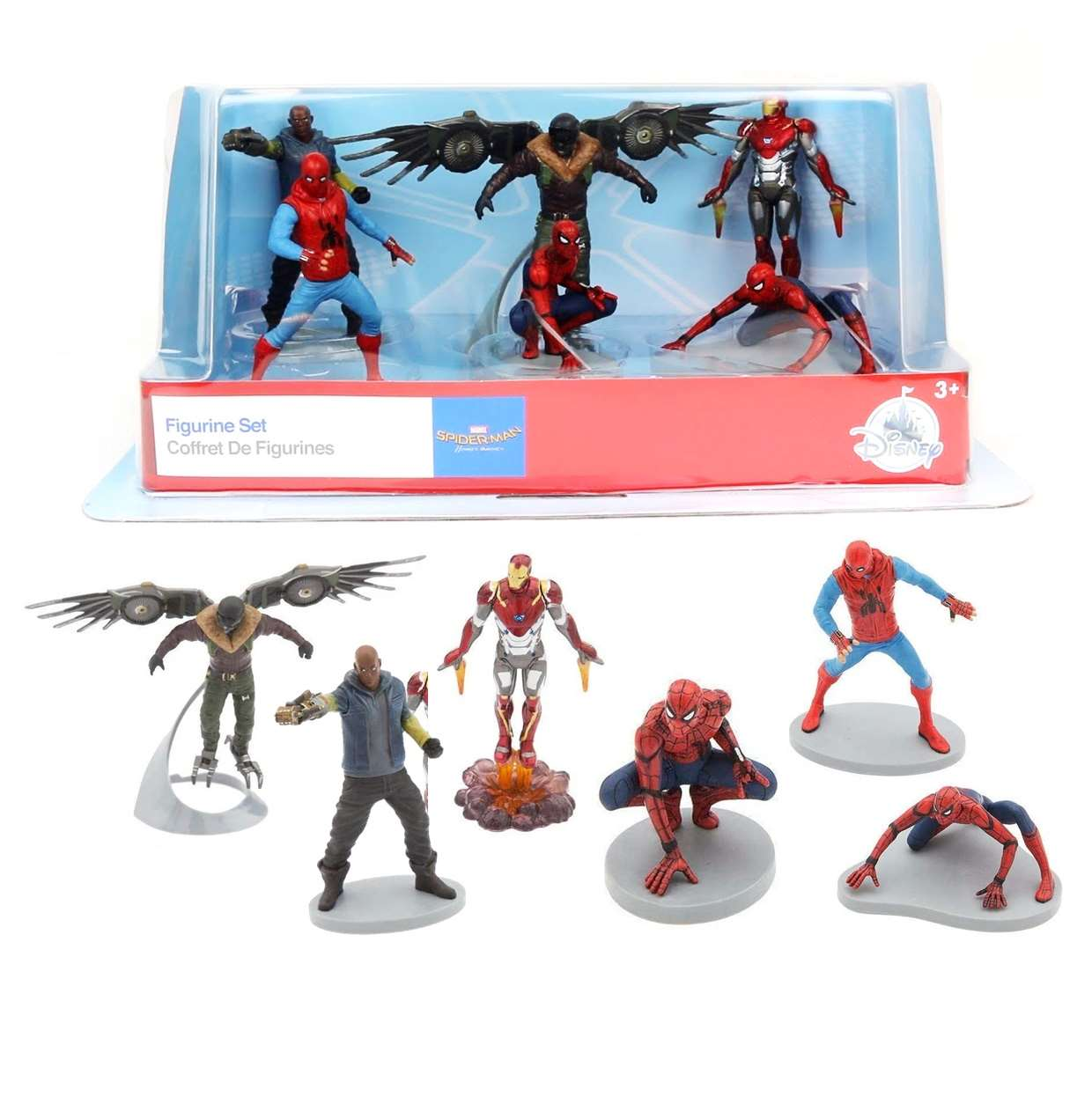 Spider Man Homecoming Set De 6 Figuras  Disney