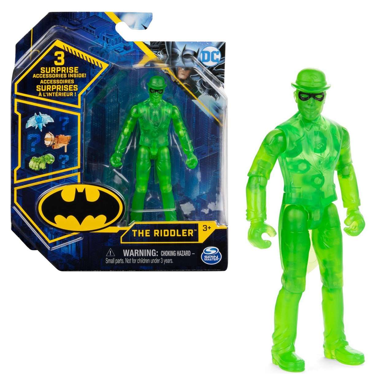 The Riddler (Acertijo) Figura Collect Them All Spin Master