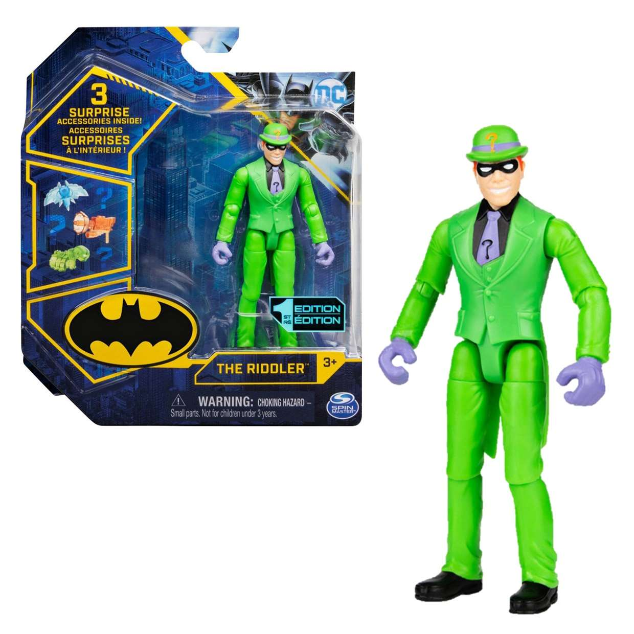 The Riddler 1st Edition Figura Collect Them All Spin Master