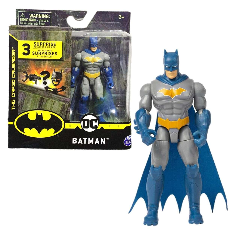 Batman Figura The Caped Crusader Spin Master 3 Pulgadas