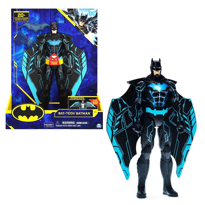 Bat Tech Batman 1st Edition Spin Master 20 Frases y Sonidos