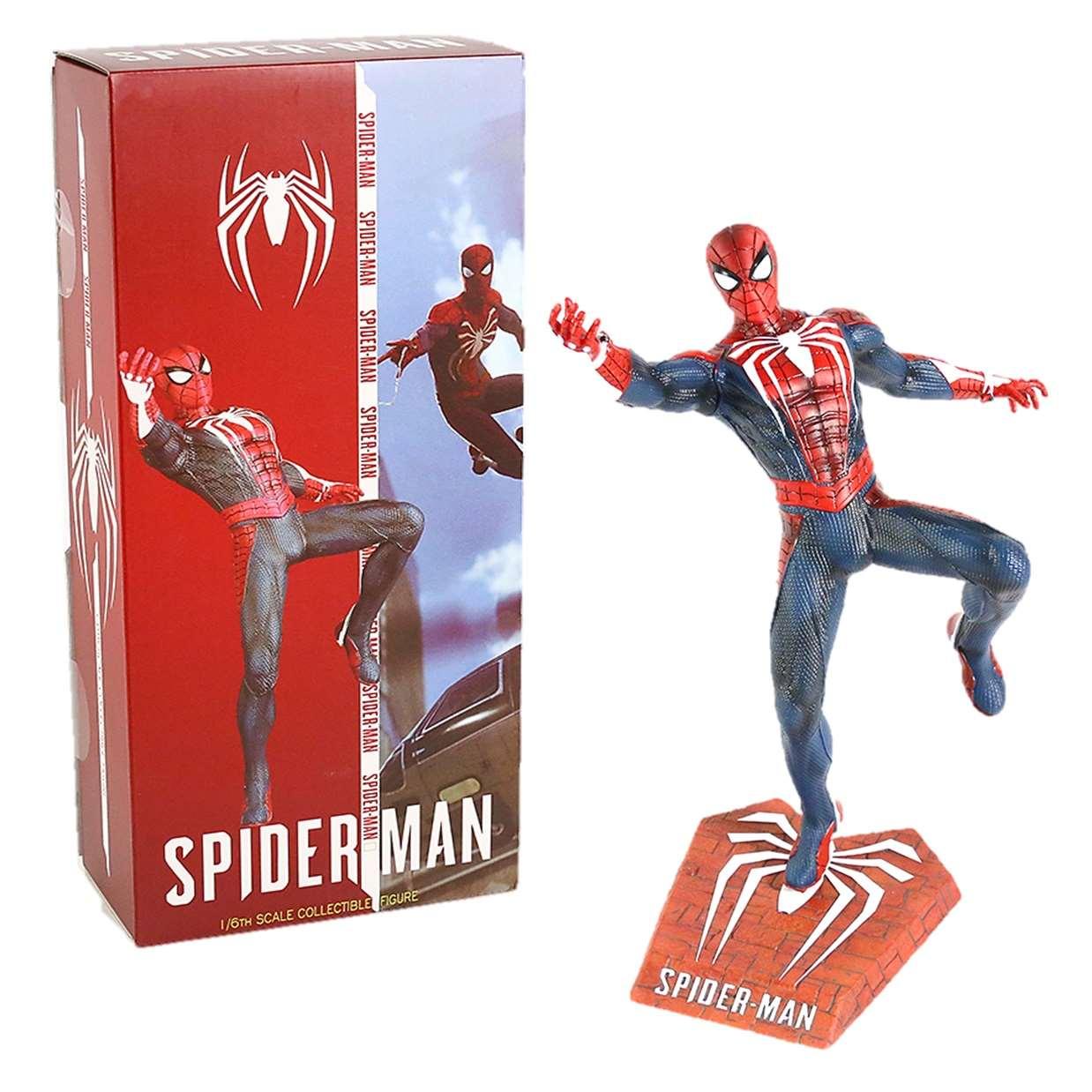 Spider Man Ps4 Escala 1/6 Estatua Team Of Prototyping 12puLG