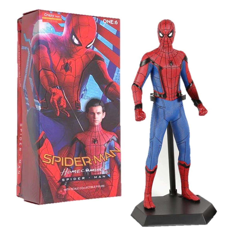 Spider Man Escala 1/6 Estatua Homecoming Crazy Toys 12 PuLG