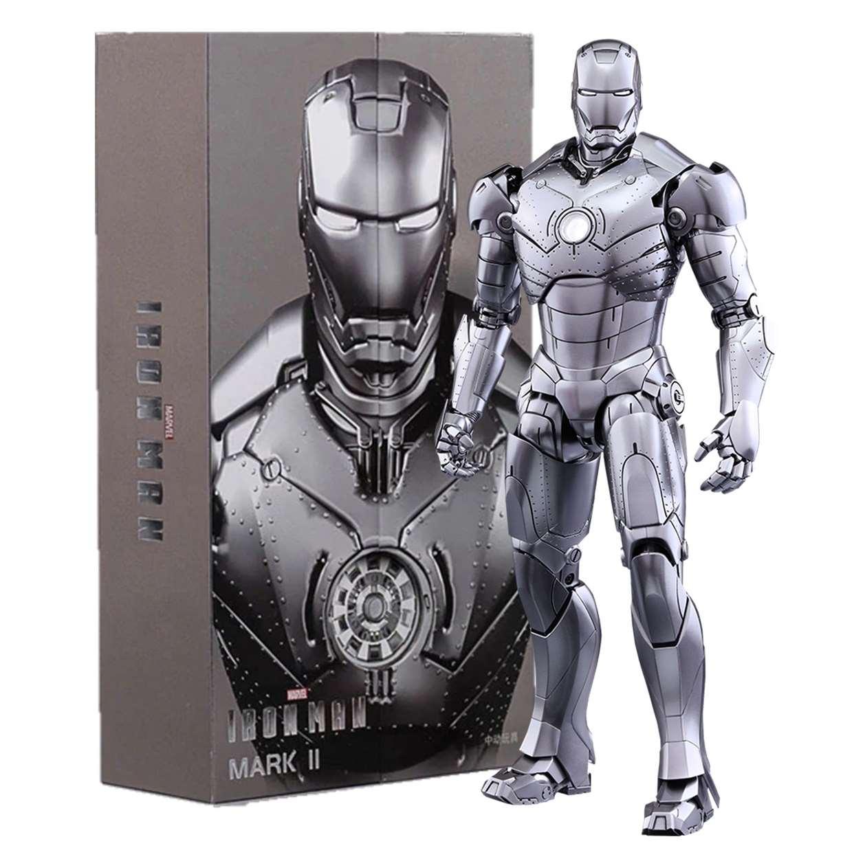 Iron Man Armor Mark Il 1:10 Figura De Acción Z D Toys 6 PuLG