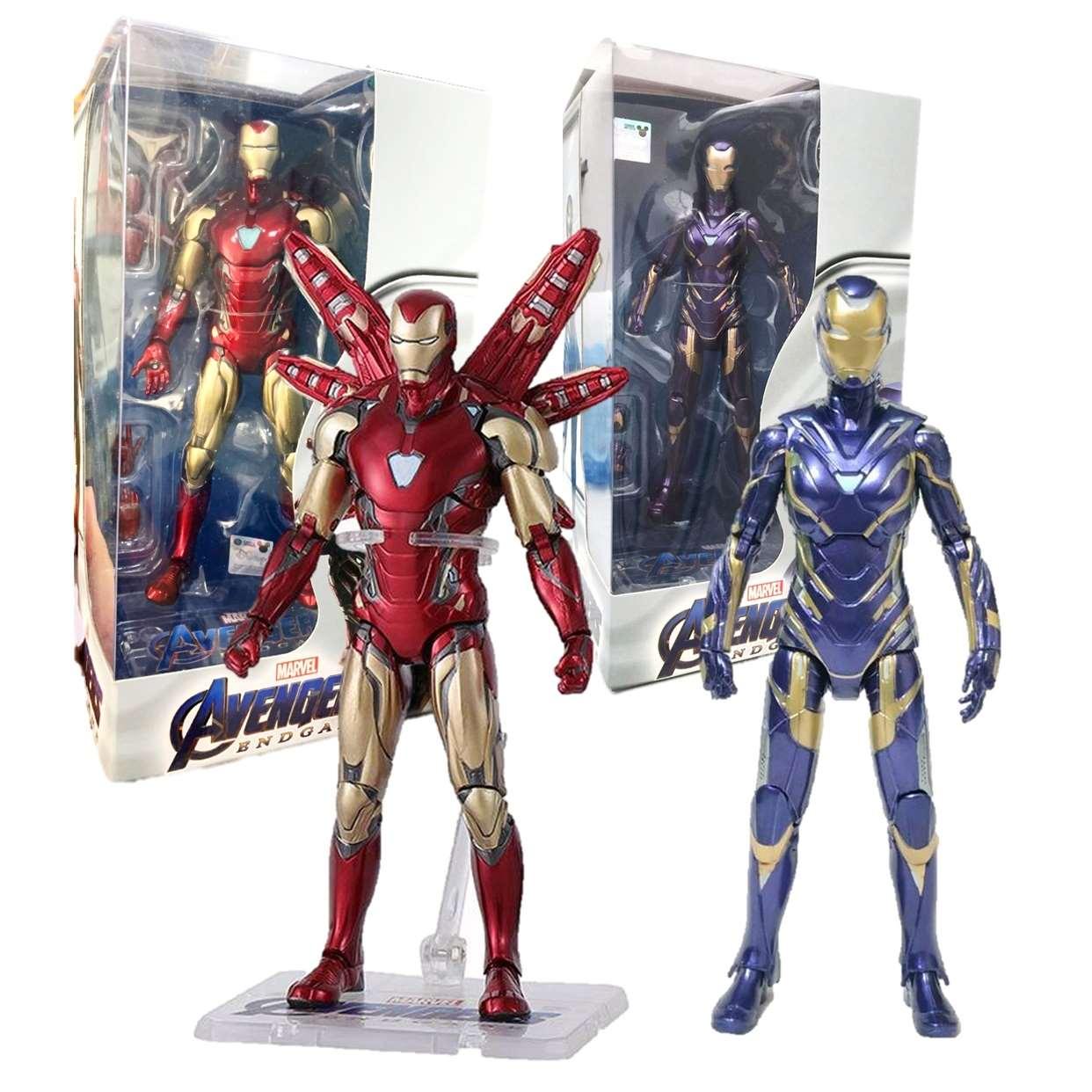 Rescue Mark 49 + Iron Man Mk 85 Avengers End Game Z D Toys