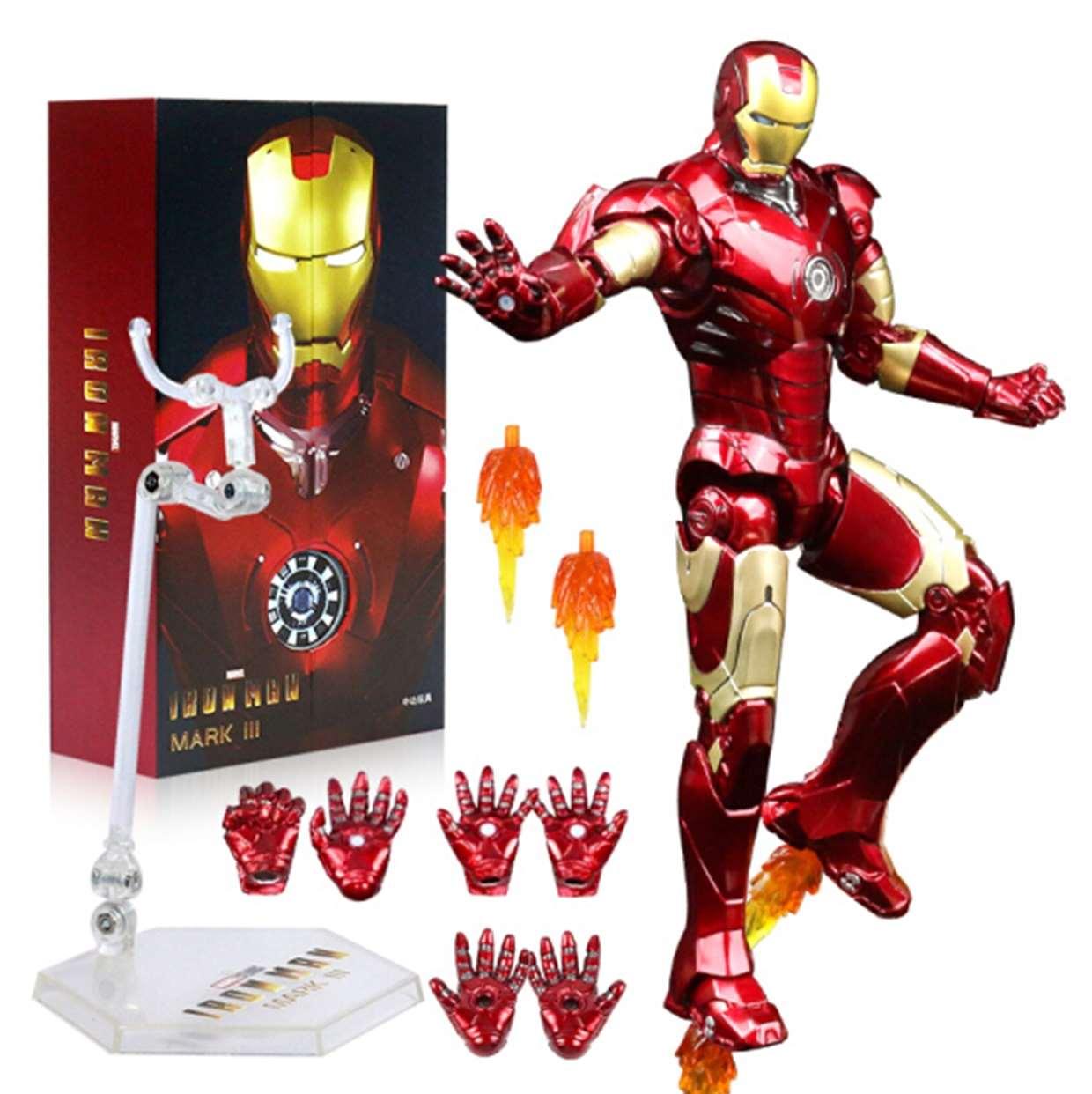Iron Man 3 Mark Ill 1:10 Figura De Acción Z D Toys 6 PuLG