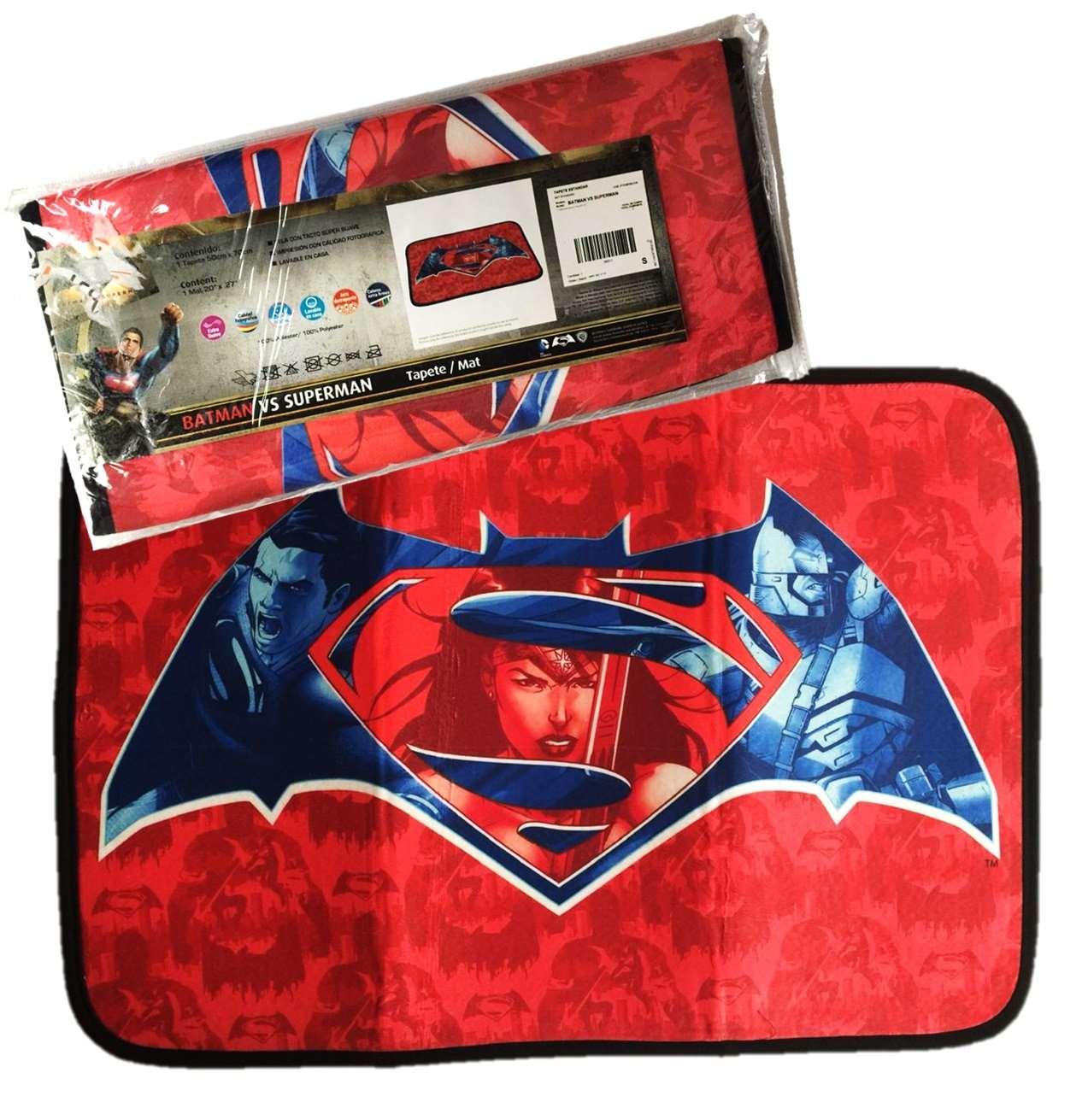 Tapete Standard Batman Vs Superman Intima Hogar 50x70cm