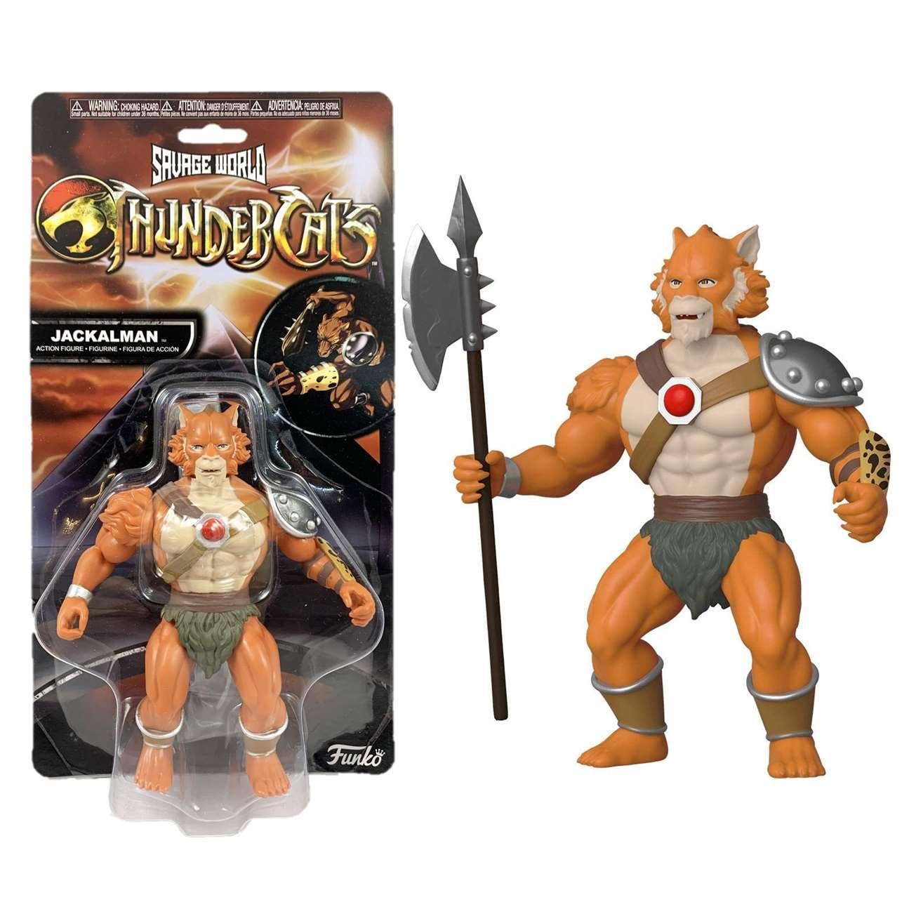Jackalman Figura Funko Savage World Thundercats