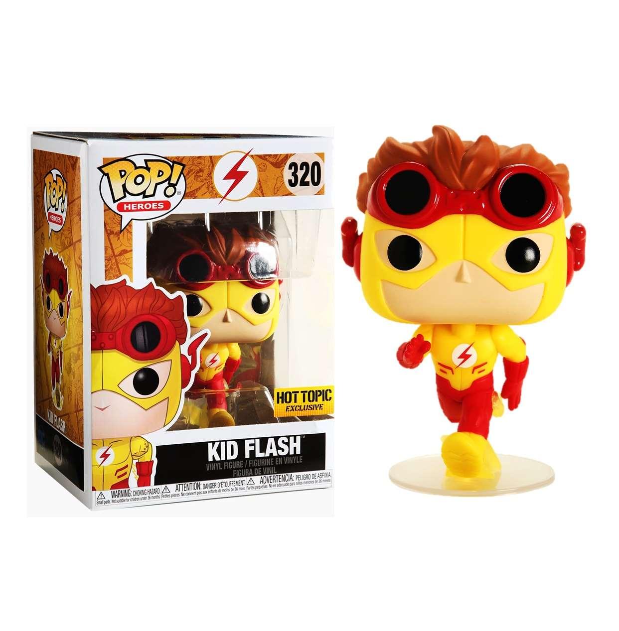 Kid Flash #320 Figura Dc Comics Funko Pop! Exc. Hot Topic