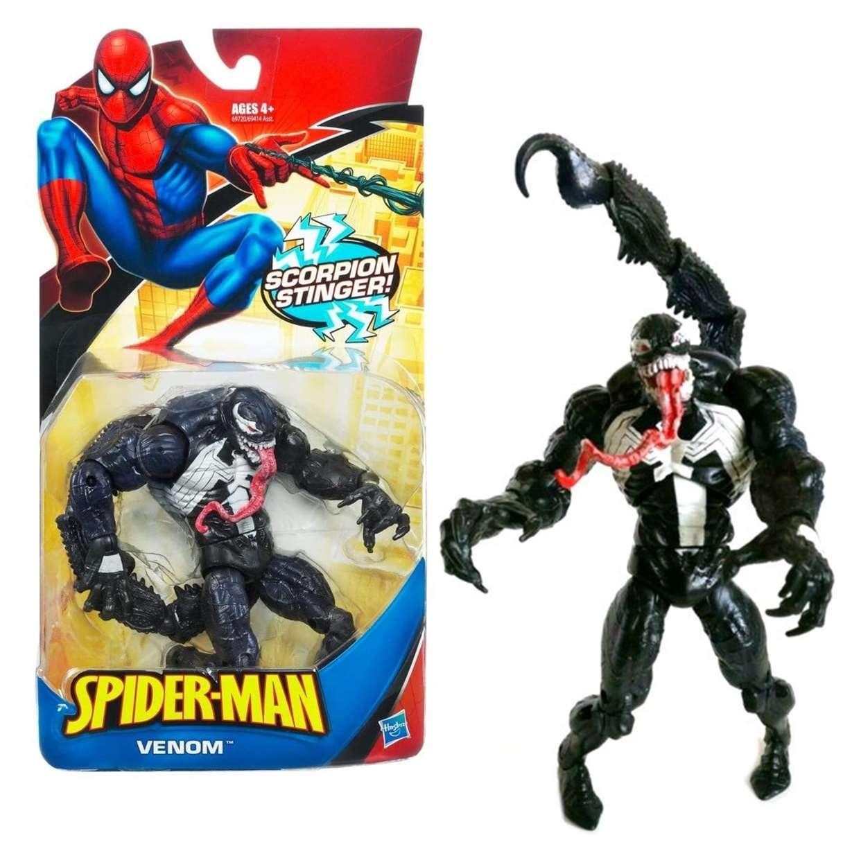 Venom Scorpion Stinger Figura Marvel Spider Man 4 Pulgadas