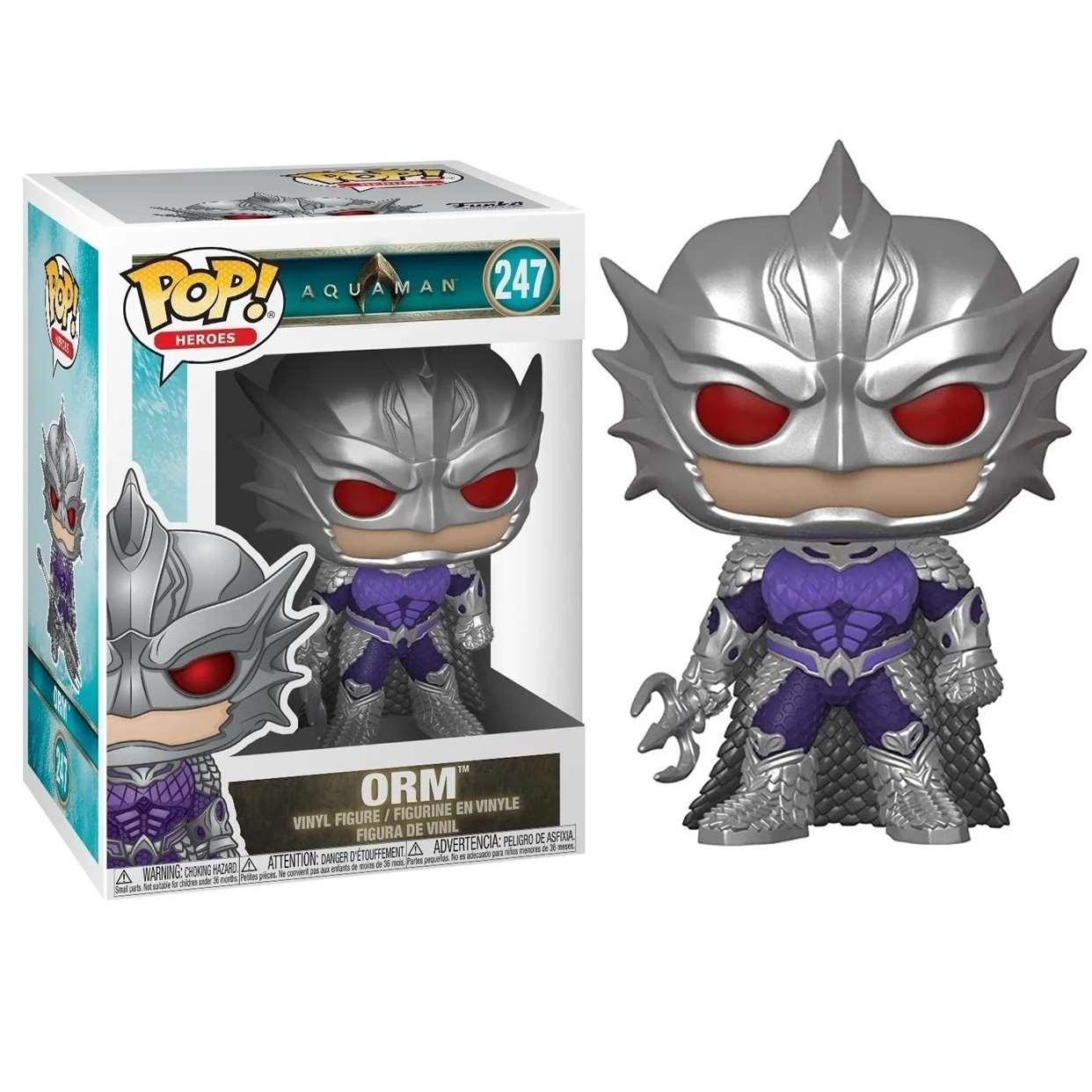 King Orm #247 Figura Marvel Aquaman La Pelicula Funko Pop!