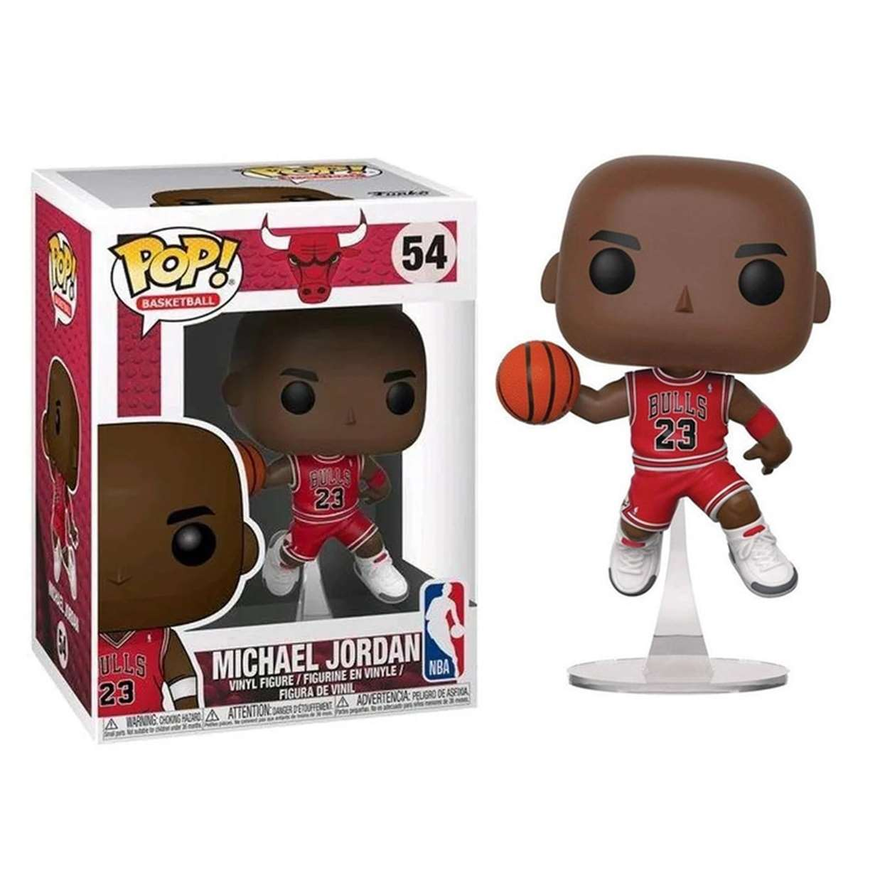 Michael Jordan #54 Figura Chicago Bulls Funko Pop Basketball
