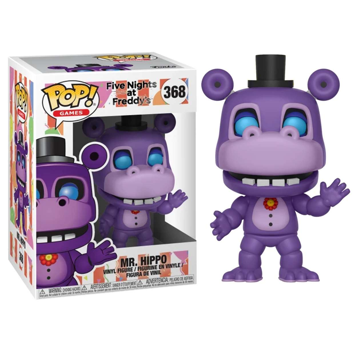 Mr. Hippo #368 Five Nights At Freddy's Funko Pop! Games