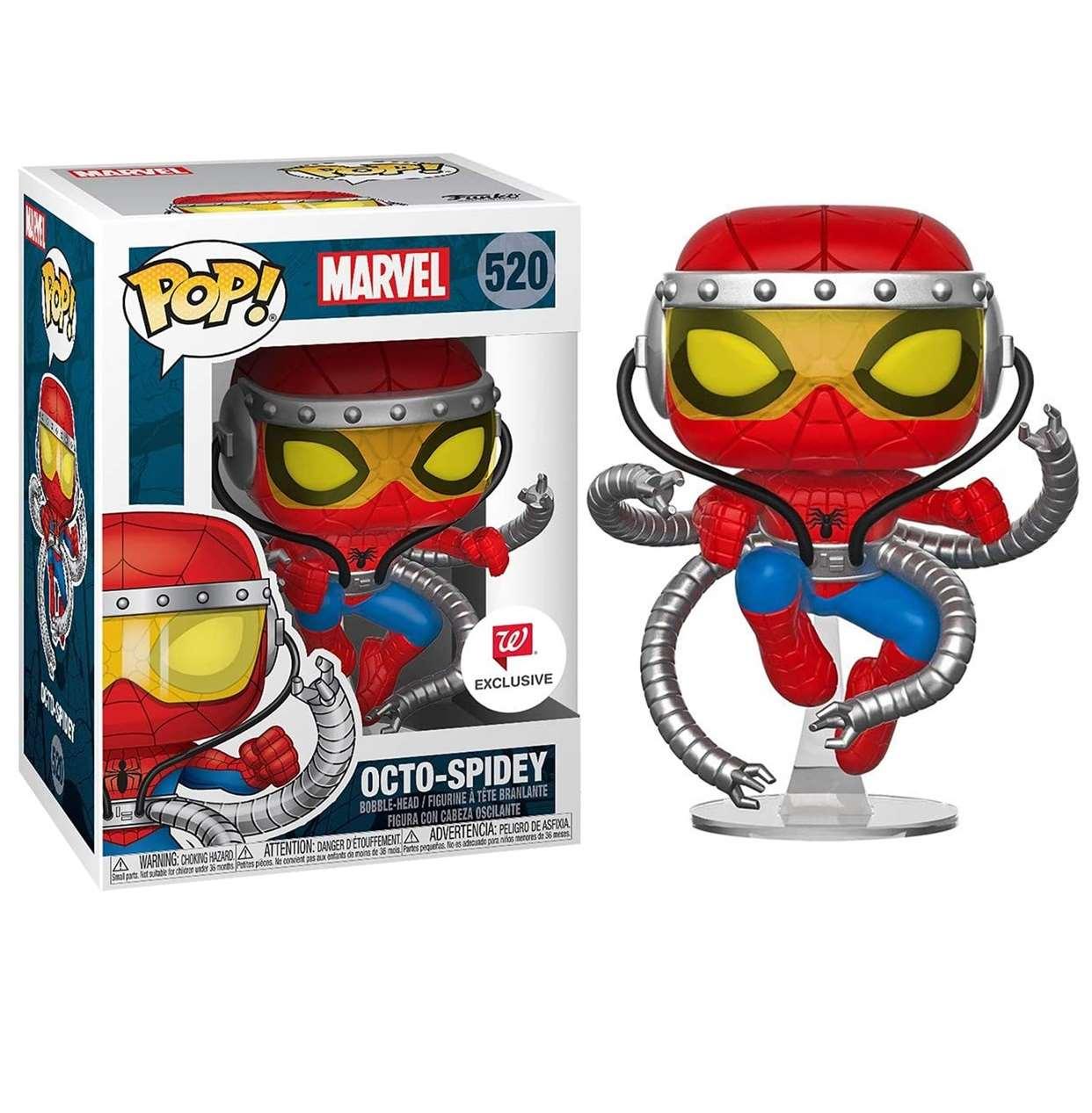 Octo Spidey #520 Figura Funko Pop! Exclusivo Walgreens