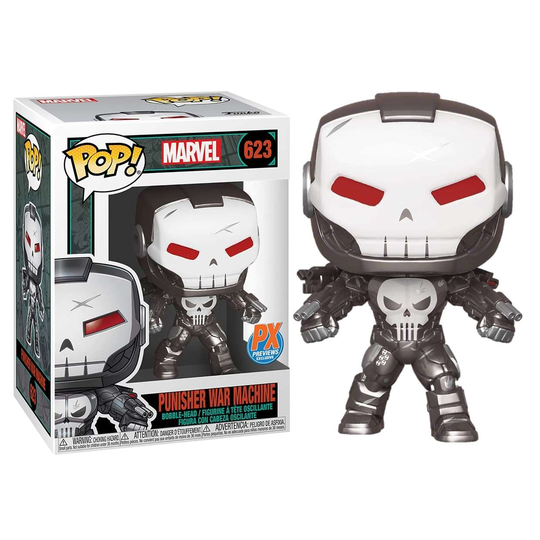 Punisher War Machine #623 Marvel Funko Pop! Exc Px Previews
