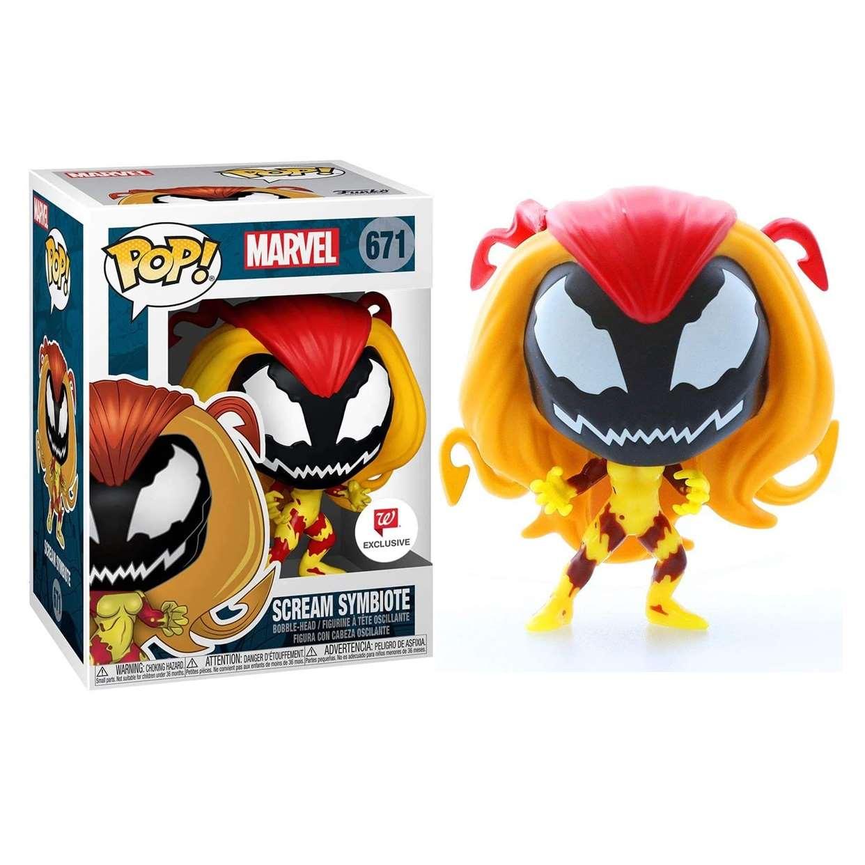 Scream Symbiote #671 Figura Marvel Funko Pop! Exc. Walgreens