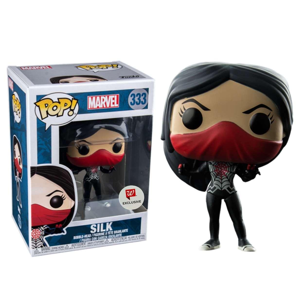Silk #333 Figura Marvel Funko Pop! Exclusivo Walgreens