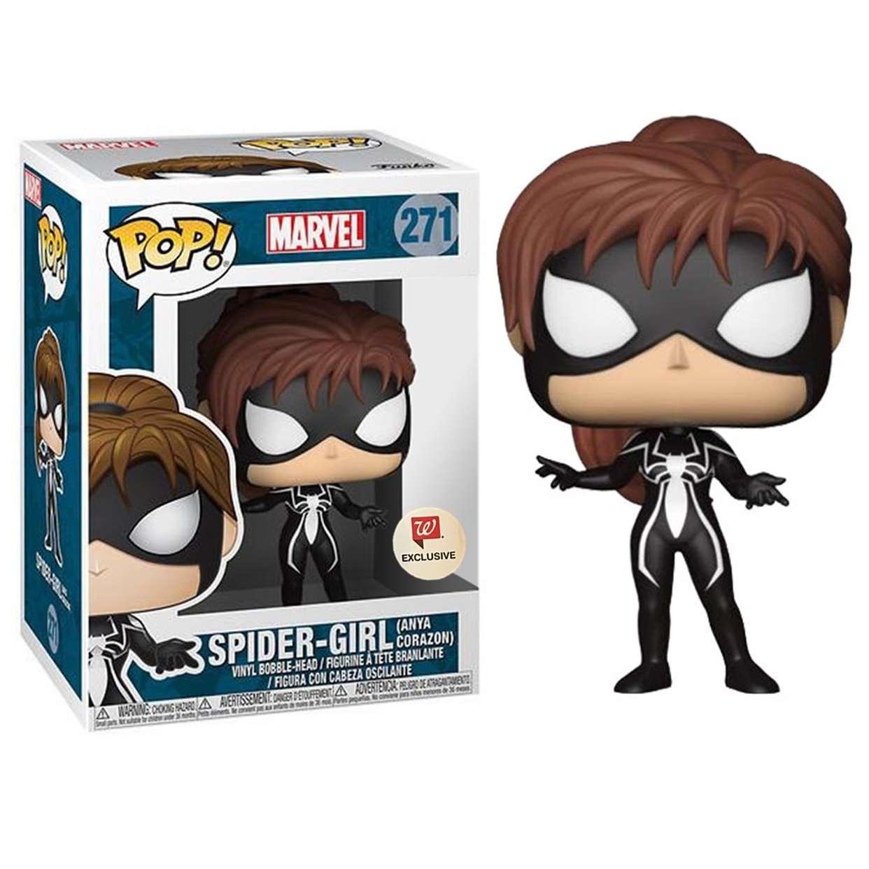 Spider Girl #271 Figura Funko Pop! Exclusivo De Walgreens
