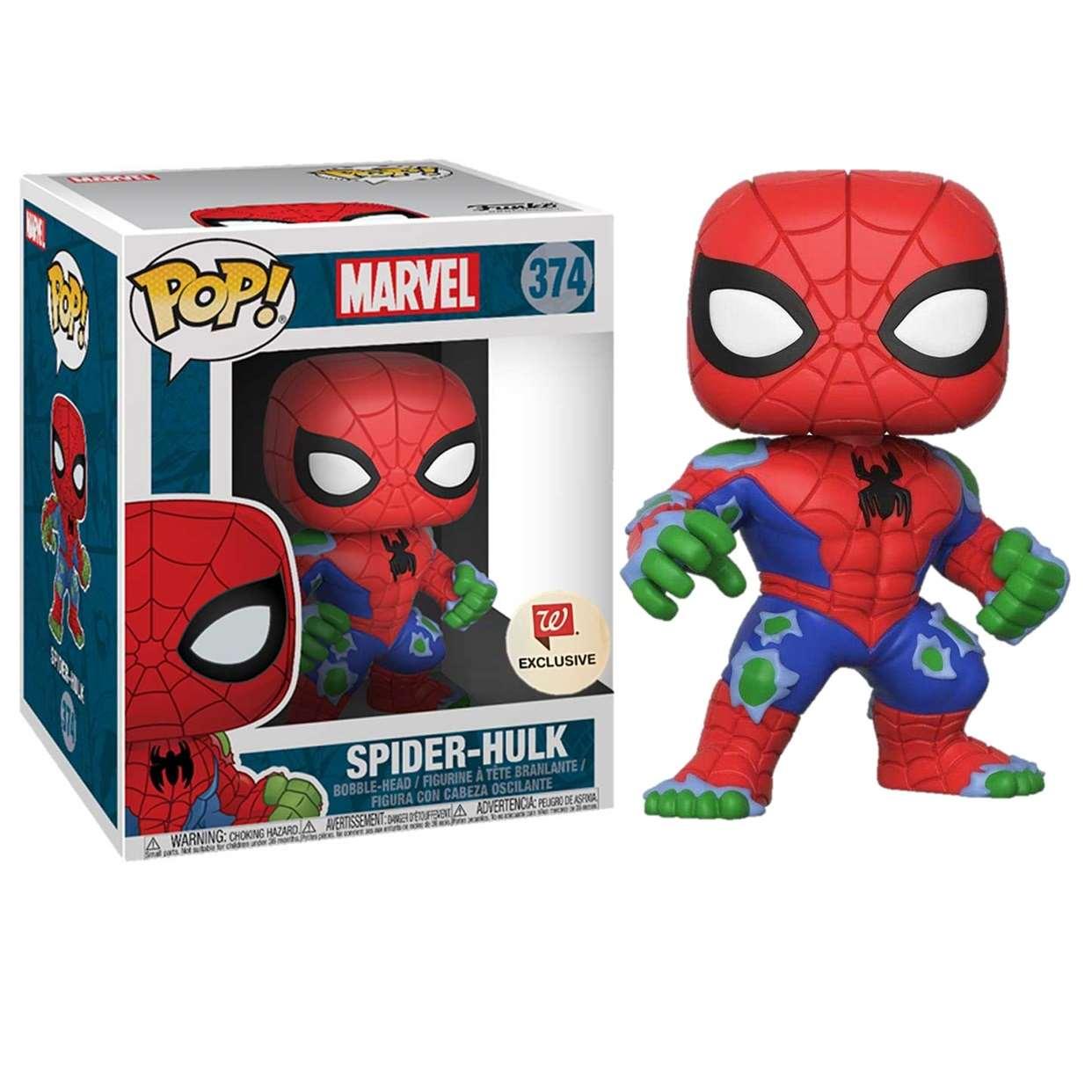 Spider Hulk #374 Figura Funko Pop! Exclusivo Walgreens