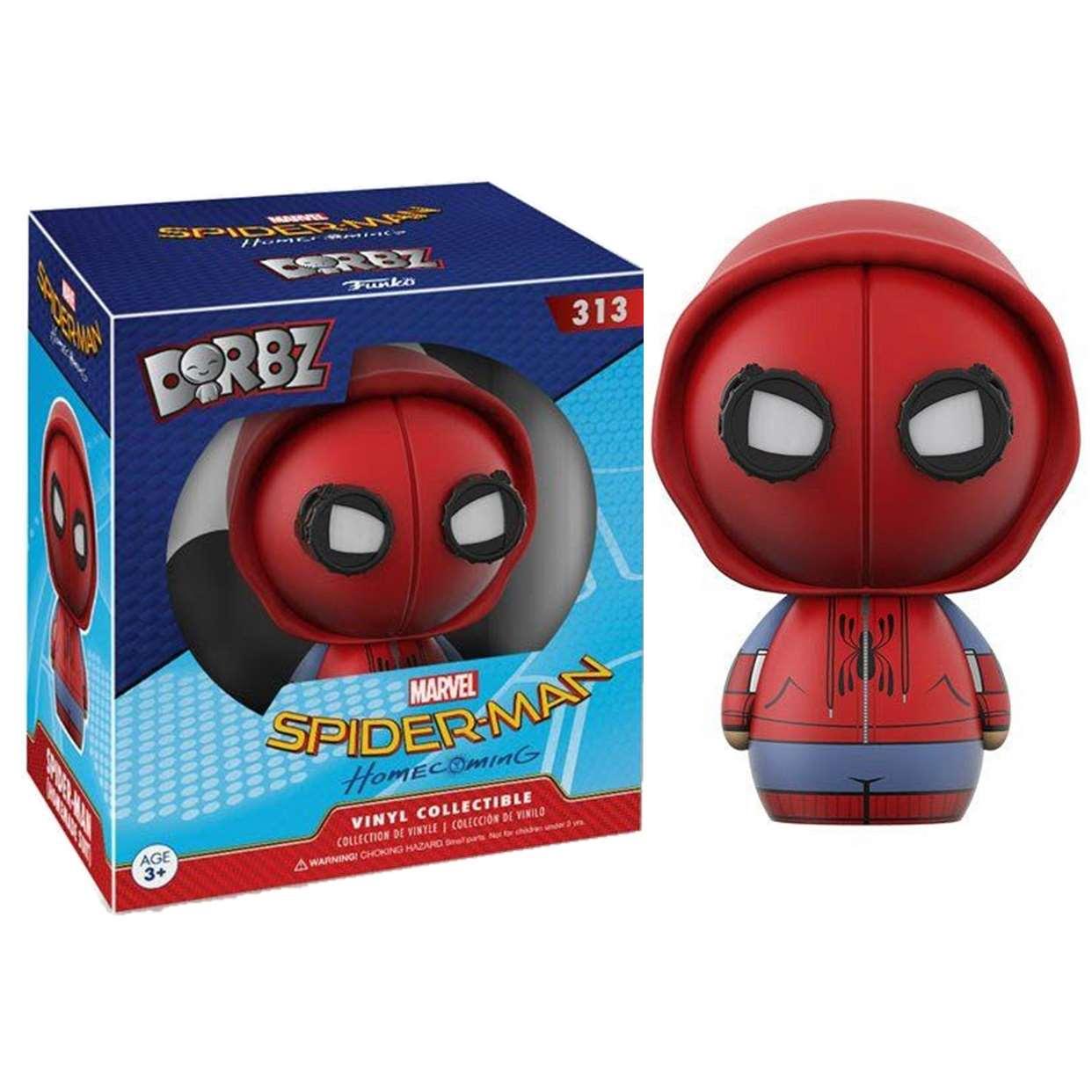 Spider Man #313 Figura Marvel Homecoming Funko Dorbz