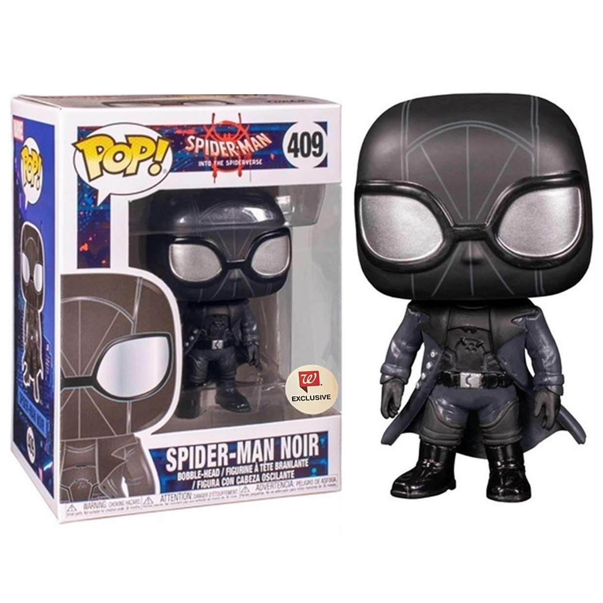 Spider Man Noir #409 Figura Funko Pop! Exclusivo Walgreens